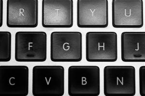 Ausschnitt aus der Tastatur